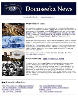 Docuseek2 newsletter #5